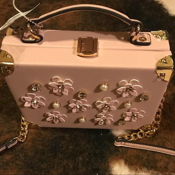 316a1c99069 Aldo Bags | Embellished Box Handbag | Poshmark